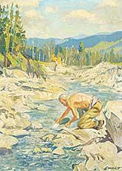 #1098 ~ Ewart - Untitled - Prospecting