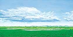 #1346 ~ Voyer - Untitled - Summer Clouds