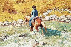 #47 ~ Freeman - Untitled - River Crossing