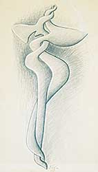 #427 ~ Etrog - Untitled - Sculpture Drawing