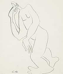 #1239 ~ Robinson - Untitled - Figure Study