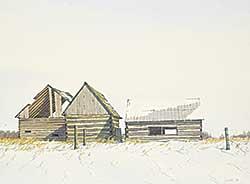 #1310 ~ Webster - Untitled - Winter Homestead