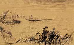 #136 ~ Eby - Sardine Fleet, Dowarnenez  Ed.90
