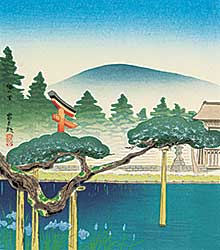 #278 ~ Tokuriki - The Irises of Umenomiya Shrine