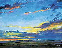 #423 ~ Easton - Sundown on the Prairie