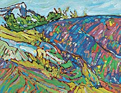 #1065 ~ Ermacora - Pink Rocks - Denman Island