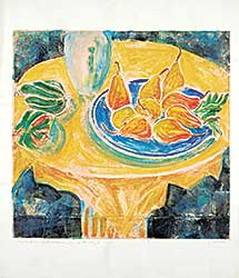 #1066.2 ~ Evrard - Leaves from a Lost Notebook XII - La Tavola  #1/1
