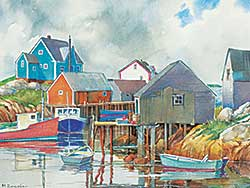 #1304 ~ Zwicker - Peggy's Cove, N.S.