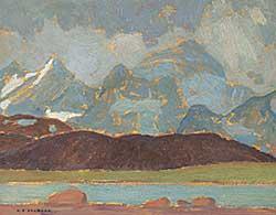 #55 ~ Jackson - Mountains Near Jasper