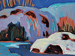 #518 ~ Thornton - Snow Covered River Banks