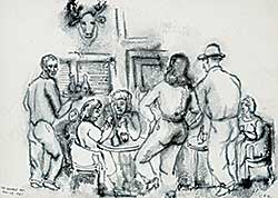 #1322 ~ Robinson - Prince George B.C. [People in the Bar]