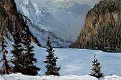 #1410 ~ Turner - Lake Louise Winter