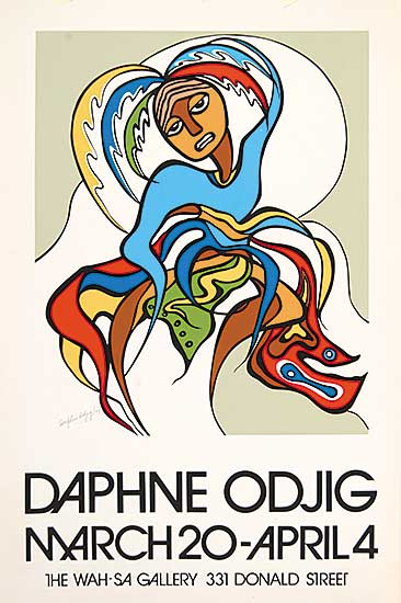 #413 ~ Odjig - Daphne Odjig - The Wah-sa Gallery