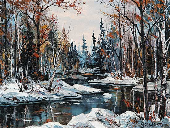 #138 ~ Jarvis - Creek in the Woods