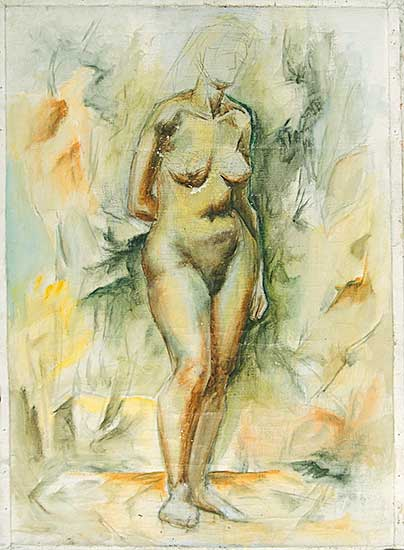 #20 ~ Aller - Untitled - Nude in Progress