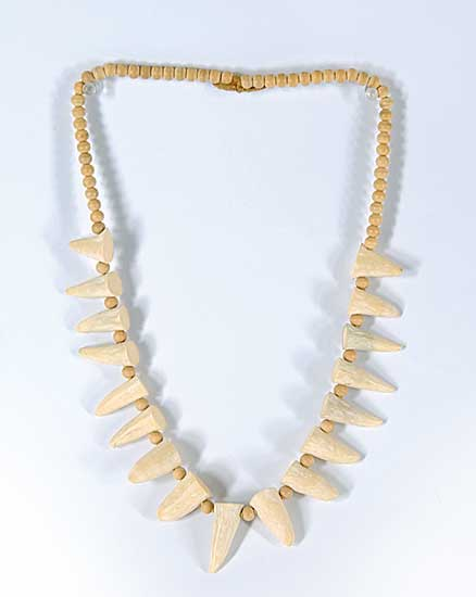 #48 ~ Aller - Untitled - Whale Tooth Necklace
