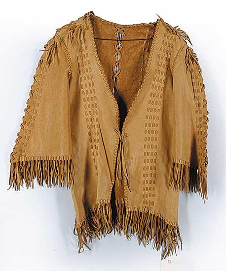 #76 ~ Aller - Untitled - Moose Hide Reversible Jacket