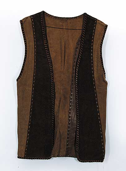 #89 ~ Aller - Untitled - Two Tone Leather Vest