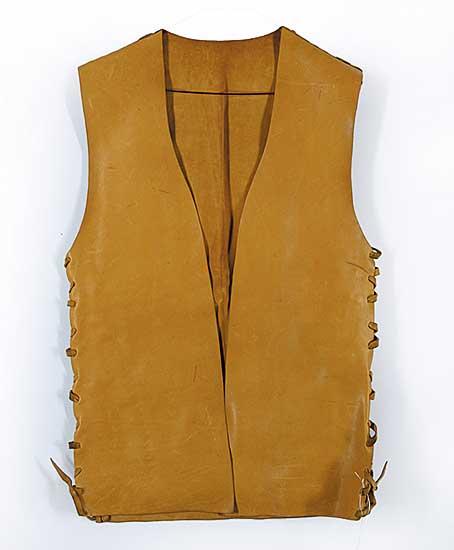 #90 ~ Aller - Untitled - Cowhide Sleeveless Vest