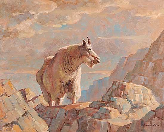 #538 ~ Gonsalves - Mountain Goat