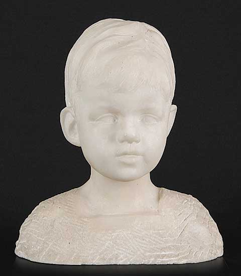 #227 ~ van Wijk - Untitled - Bust of a Young Boy