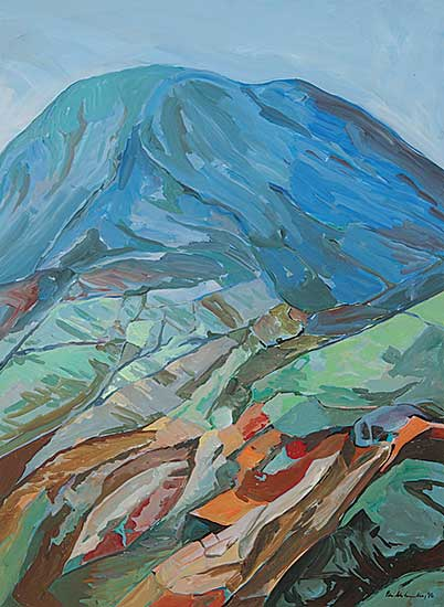 #748 ~ McConville - Untitled - The Blue Mountains