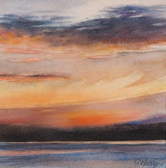 #921 ~ Woolgar - Untitled - Over the Island