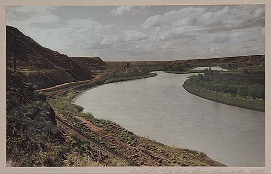 #76 ~ School - On the Red Deer River, Drumheller, Alta