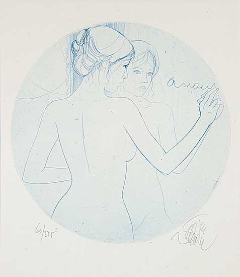#925 ~ Valadie - Untitled - Amour  #60/225