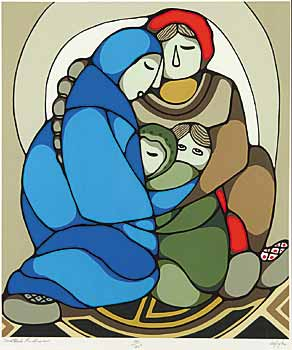 #154 ~ Odjig - Mother's Embrace  #121/125