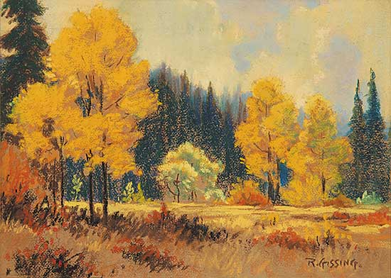 #49.1 ~ Gissing - Untitled - Autumn Scene