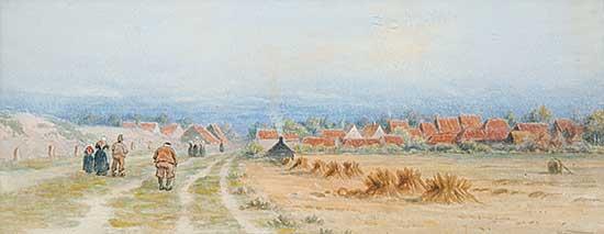 #121 ~ Verner - Village Near Flushing, Holland