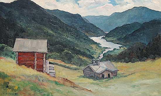 #124 ~ Vervoort - Untitled - Mountain Cabin