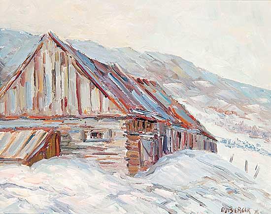 #248 ~ duBerger - Une Grange aux Eboulements
