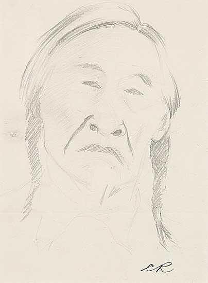 #390 ~ Robinson - Untitled - Indian Elder