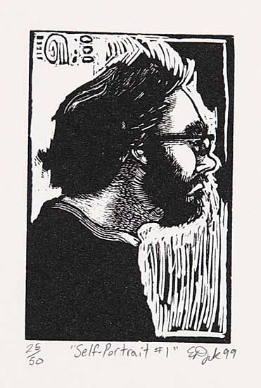 #220 ~ Dyck - Self Portrait 1  #25/50