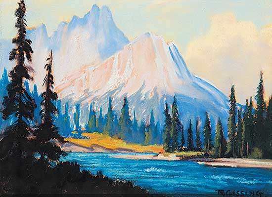 #42 ~ Gissing - Untitled - In the Rockies