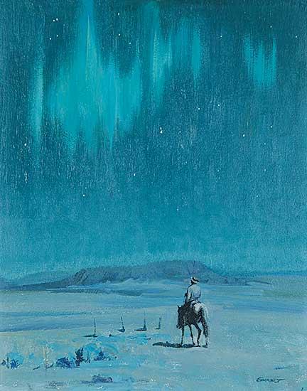 #428 ~ Ewart - Untitled - Northern Lights