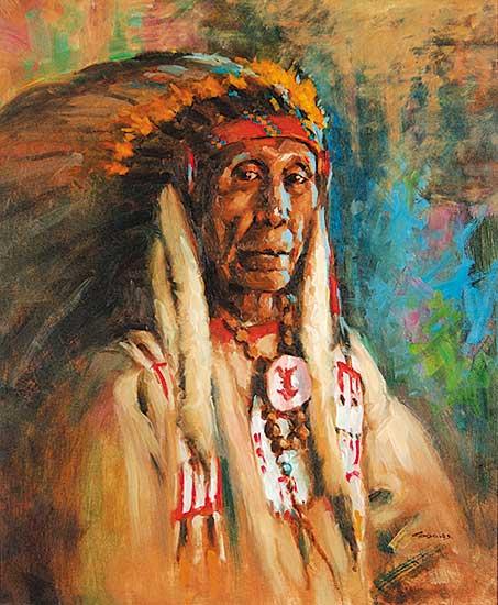 #436 ~ Gonsalves - One Gun Blackfoot