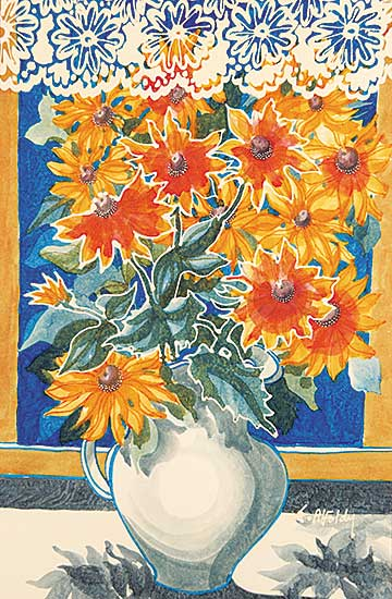 #606 ~ Alfoldy - Untitled - Summer Bouquet