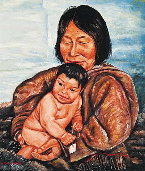 #724 ~ Thrasher - Untitled - Mother and Child