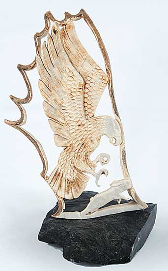#319 ~ Taylor - Untitled - Eagle and Hare