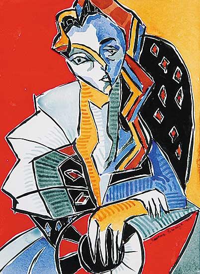 #433 ~ Espinoza - Untitled - Young Woman