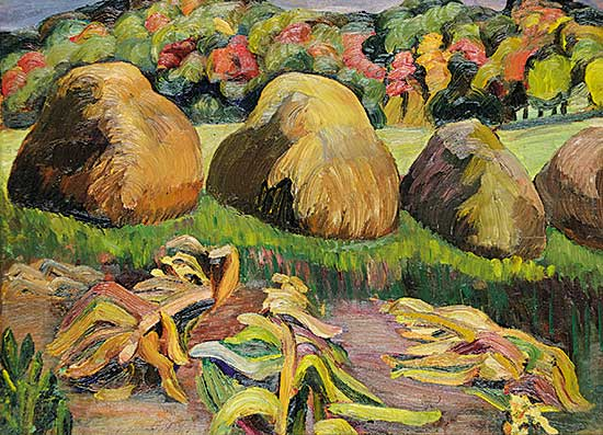 #423 ~ Eliot - Haystacks and Trees