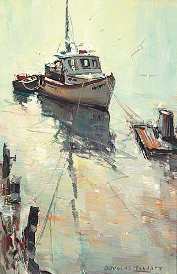 #24 ~ Elliott - Lobster Boat Motif