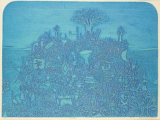 #1058 ~ Gonzalez Tornero - Nocturne  #6/100