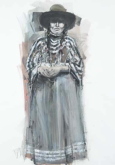 #109 ~ Van Ginkel - Beautiful Shadow - Mrs. Plain Woman, Blood