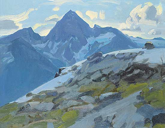 #431 ~ Ewart - Mt. Sir Donald from Mt. Abbott