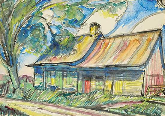 #1158 ~ Pepin - Maison, abandonnee - Ste Sebolastique, Que,. Canada