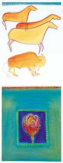 #14.1 ~ Cardinal-Schubert - The Mountains, the Sun, Fur Robe - Prairie Ear - Listens for Spring
